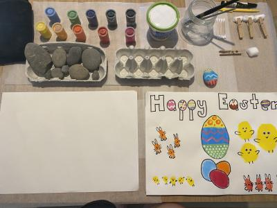 Easter Egg Decorating with Jane Watson